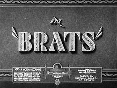 Laurel & Hardy - Brats - 1930