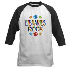 Shop Libraries Baseball Tee designed by FunDesigns. Library Inspiration, Library Ideas, Rock Star Theme, Middle School Libraries, Library Programs, Librarians, Baseball Jerseys, School Shirts, Center Ideas