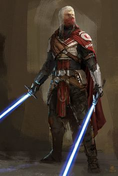 Just a Masked Itinerant Jedi Knight of the High Republic. Star Wars Characters Pictures, Star Wars Pictures, Star Wars Images, Jedi Armor, Jedi Sith, Star Wars Concept Art, Star Wars Fan Art, Star Wars Rpg, Star Wars Jedi