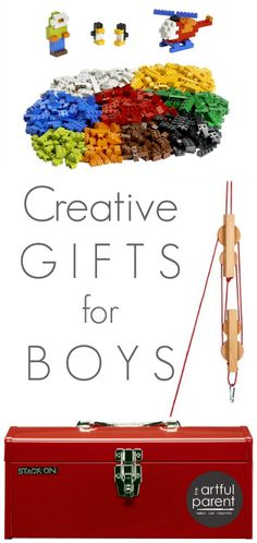 Creative Gifts for Boys (and girls) - An Artful Parent Gift Guide