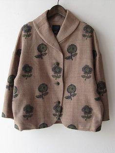 Mina Perhonen jacket - Chum textile