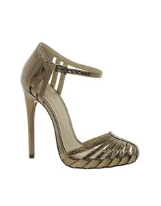 ASOS HANDWRITTEN Heeled Sandals..loving the 70's vibe these are giving
