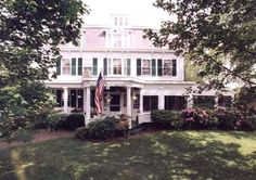 In Yarmouthport,  on the North Shore of Cape Cod, on a street lined with stately trees, stands the Colonial House Inn. Here the charm of old Cape Cod has been carefully preserved and the tradition of gracious dining and hospitality carried forward.  Each of the large guest rooms is individually decorated and furnished with antiques.  Each room has its own private bath and a charming view of our grounds and the adjacent historic homes.