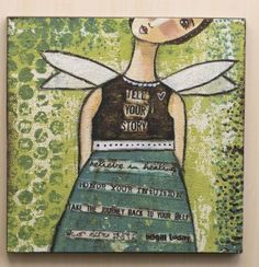 "16"" Wall Art-Beliver In Healing 