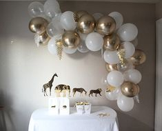 Balloon Art Kit with Leafs White Party Decorations, Balloon Decorations, Birthday Decorations, Balloon Arch Diy, White Balloons, 50th Birthday Party, Colorful Party, Gold Party, Grad Parties
