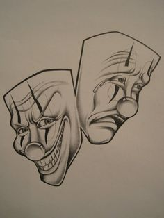 242 Best Smile Now Cry Later Masks Images Awesome Tattoos Tattoo