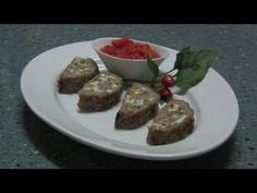 Мясной рулет  - Рецепт Бабушки Эммы
