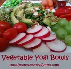 Vegetable Yogi Bowls Ideas www.Beauty and the Beets.com