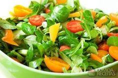 Receita de Salada de espinafre em receitas de saladas, veja essa e outras receitas aqui!