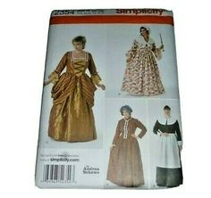 Find many great new & used options and get the best deals for  Early American Colonial Prairie Quaker Settlers Costume Sewing Pattern Cosplay at the best online prices at eBay! Free shipping for many products! Sewing Patterns Girls, Mccalls Sewing Patterns, Simplicity Sewing Patterns, Pilgrim Dresses, Victorian Costume, Costume Patterns, Early American, Colonial, Vintage Dresses