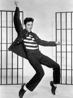 Painting - Elvis Presley Jailhouse Rock by Eric Dee , John Lennon, Elvis Presley Wallpaper, Style Gentleman, Elvis Presley Pictures, Jailhouse Rock, Pop Rock, Rock Roll, 1950s Rock And Roll, Men Styles