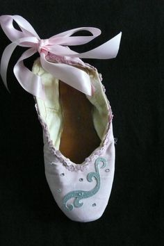 Decorative pointe shoe  pink ballerina by PointePerfection1, $15.99