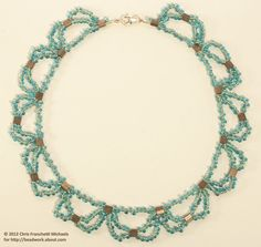 Tila Bead and Magatamas Lace Necklace Tutorial: Gather Your Materials