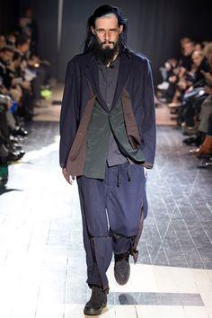Yohji Yamamoto - Men Fashion Fall Winter 2015-16 - Shows - Vogue.it
