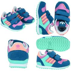 Adidas For Babies :) http://www.hoodboyz.co.uk/product/p103223_adidas-shoe-zx-700-cf-1-kids-low-sneaker-blue-multicolored.html