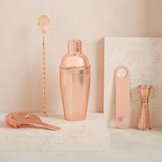 the copper cocktail shaker set (affiliate)