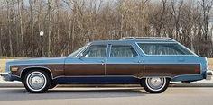 033016 Barn Finds- 1975 Oldsmobile wagon - 2