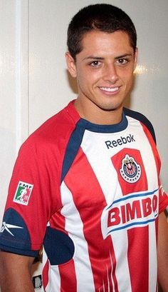Javier Hernandez (Chicharrito) my favorite soccer player for my favorite Mexican  soccer team Chivas 9fb366b3e