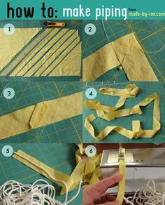 How to make piping - made by rae