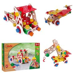 Beaufix Multi Set 2 3in1 (131 10400) Manufacturer: Baufix Barcode: 9003150104001 Enarxis Code: 013564 #toys #construction #model