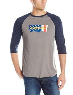 Levi's Men's Harris Baseball Shirt at Amazon Men's Clothing store: