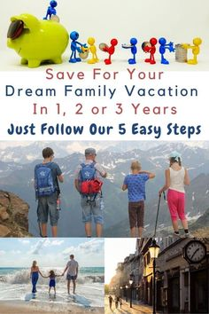 Saving For A Dream Vacation in 2 or 3 Years Travel Rewards, Travel Money, Travel List, Travel Deals, Travel Advice, Disney Vacations, Vacation Trips, Dream Vacations, Printable Packing List