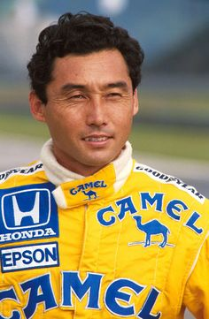 Japan's Satoru Nakajima. Nakajima participated in 80 Formula One Grands Prix, debuting in the Brazilian Grand Prix on 12 April 1987, bringing Honda engines to the Lotus team. He was 34 years old in his début race, making him one of Formula One's oldest debutantes of the modern era.[citation needed] He finished sixth, and so scored a point, in only his second race, the 1987 San Marino Grand Prix.