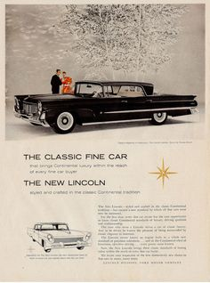 1958 Lincoln Landau