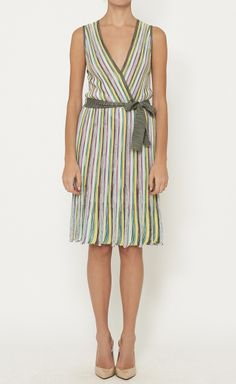 M Missoni Pink, Yellow And Multicolor Dress | VAUNTE