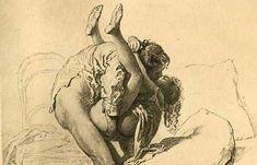 Juxtapoz Magazine - Home miháli zichi, juxtapoz magazin, 19th centuri, 19th century, ink drawings, erot art