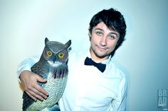 Friends Were Made Last Night! Brendan Coughlin of NBC's Days of our Lives for DREAM LOUD!  Photograph By Brad Everett Young www.DreamLoudOfficial.com  #DreamLoudOfficial #BrendanCoughlin #DOOL #DaysOfOurLives #TedStevens #Salem #BadBoy #Owl #Hitchcock #Classic