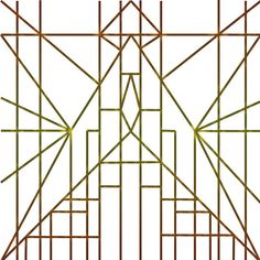 'decostar' by KT-Theorist Art Deco Pattern, 1920s Art Deco, Art And Architecture, Cool Art, Symbols, Cool Stuff, Dress Collection, Image, Glyphs