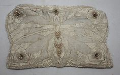 Vintage Purse Beaded Small Evening Clutch Bag by ilovevintagestuff