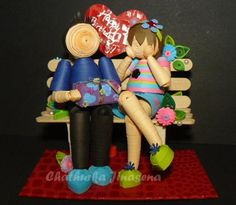 Happy 21st birthday sweety ! ♥ - Paper Quilling Talents of Chathurka Jinasena