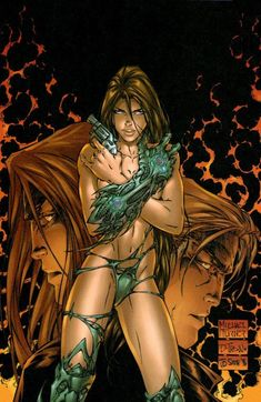 Witchblade #5 by Michael Turner