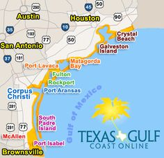 Oh how I miss Texas! ✈ ️Best Beaches In Texas Gulf Coast Texas Vacations, Texas Roadtrip, Texas Travel, Vacation Trips, Vacation Ideas, Vacation Places, Texas Beach Vacation, Solo Vacation, Rv Travel