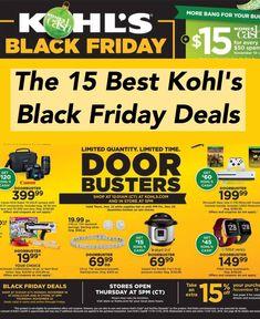 9832e60cf405 15 Best Kohl s Black Friday Deals   Sales for 2018