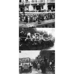 /07/1918 LA REINA MADRE EN SAN SEBASTIAN. 1.-EL PÚBLICO EN LA CALLE ESPERANDO EL PASO DE DOÑA MARÍA CRISTINA. 2.-UNA TRIBUNA EN LA AVENIDA DE LA LIBERTAD. 3.-LLEGADA DE S.M. AL PALACIO DE MIRAMAR: Descarga y compra fotografías históricas en | abcfoto.abc.es
