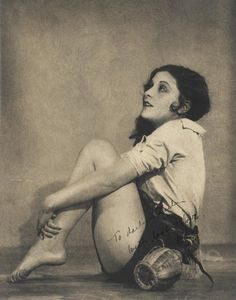 Mary Doran, 1928  by William Mortensen