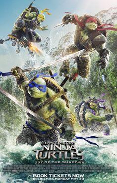 Vamos Falar Sobre... : Novo Trailer: As Tartarugas Ninja - Fora das Sombr...