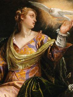 Veronese. Saint Catherine of Alexandria in Prison.