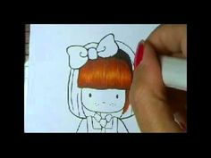 Numerous tutorials here including Copic Red Hair Long