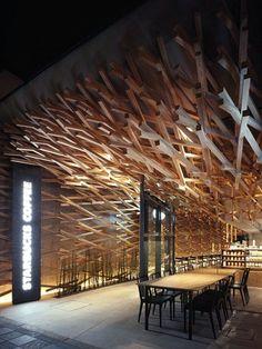Kıvrımların Arasında Kahve Keyfi: Starbucks, Fukuoka-Japonya