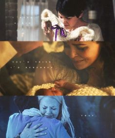 Mother and Daughter-Snow and Emma