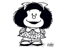 Coloriage Dessins. Mafalda 2