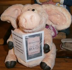 Chapter Eleven ... The Night of the Running Pig!  Seen at the book launch! Market Harborough