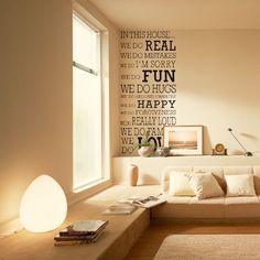 Newsee Decals Large Black THIS HOUSE Quote Words Room Art Mural Wall Sticker Decal Newsee Decals http://www.amazon.com/dp/B00U6618RM/ref=cm_sw_r_pi_dp_1ZwGvb08K6Z4H
