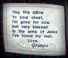 """Custom Created """"Arms of Jesus"""" Memorial Patch, Made to Order by LittleKittens on Etsy Memory Pillow From Shirt, Memory Pillows, Memory Quilts, Sewing Hacks, Sewing Crafts, Sewing Projects, Memory Crafts, Girl Scout Crafts, Quilt Labels"""