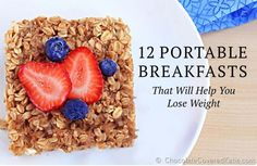 12 Quick Recipes For the Morning Commute - #ReImagineDieting Sign up for more weight recipes like this at fullplateliving.org