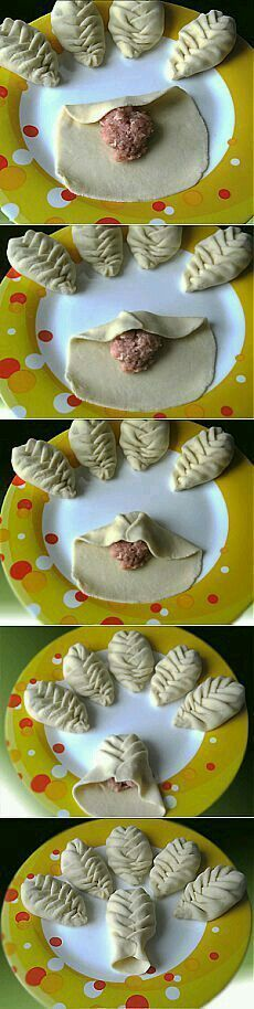 Leaf shaped empanadas for earth day, I am thinking. Bread Shaping, Snacks Für Party, Bread And Pastries, Food Decoration, Food Humor, Creative Food, Food Art, Food Inspiration, Love Food